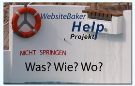 WebsiteBaker Help Projekt
